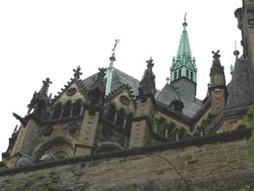 Das Wernigeröder Schloss ist sehenswert