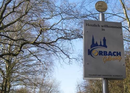 Übergang vom Areal der Stadt Waldeck auf Korbacher Gebiet.