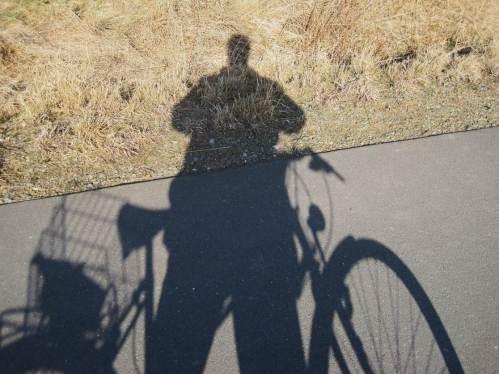 Der Sonnenstand steigt, mein Schatten wird schwärzer.