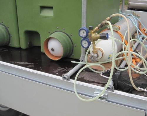Sauerstoff - wichtiger Bestandteil eines Transport-Erfolgs.
