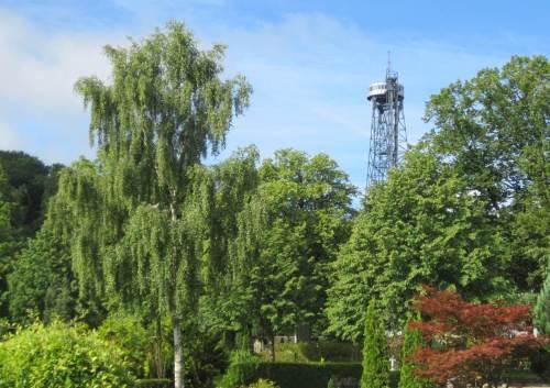 Blick zurück auf den Aalborg-Turm.