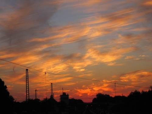 Schon erstaunlich, wie CANON den Töster Morgenhimmel wahrnimmt.