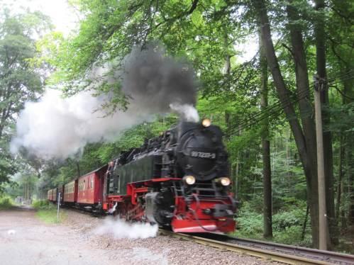 Brockenbahn bergan