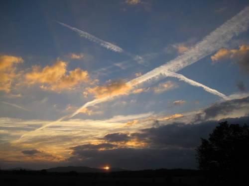 Abendtour, Sonnenuntergang Elbingerode Richtung Brocken