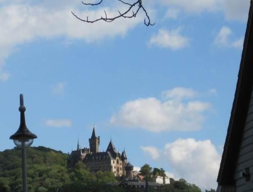 Schloss Wernigerode mit Laterne