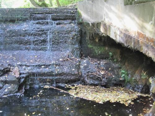 H 2, alles Wasser ist bei NNW im Fischpass