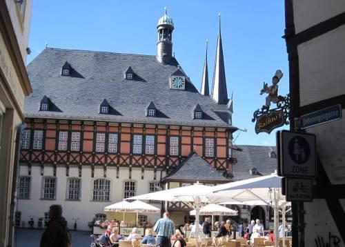 Rathaus Wernigerode, Markt