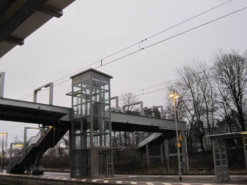 Vor einer Woche - grauer Start am Sonnabend vom Bahnhof Tostedt Richtung Dortmund.