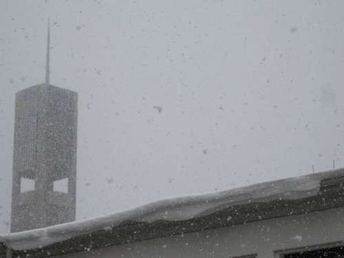 Der Wind - Schneewehen und Schneewächte, Vorsicht!