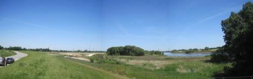 Auf 40 ha wird hier der Elbe wieder Raum gegeben inklusive Tidegeschehen. Ein Naturparadies darf sich wieder entwickeln.