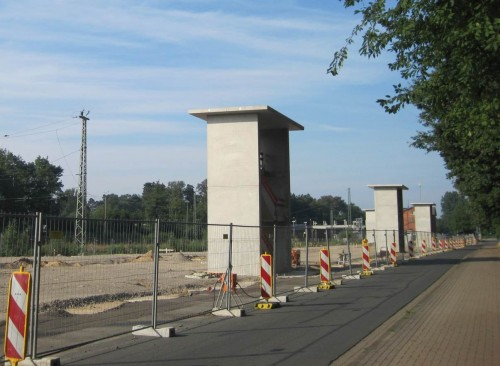 3 Türme auf kahler Flur - Vorbereitung für ein Grenzlandmuseum Tostedt?