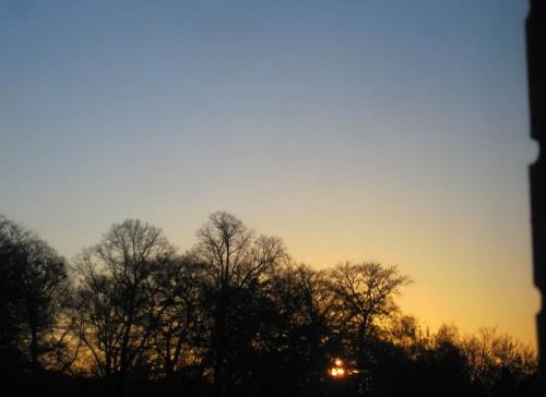 Frühaufsteher lieben einen Arbeitsplatz mit Fenster gen Osten ...