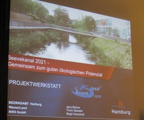 Die Startfolie der Präsentation führt die Planungsbearbeiter auf.
