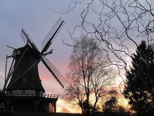 Abendstimmung an der Brunsbrockmühle.