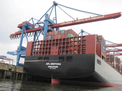 """Für den weltweit subventionierten Immer-größer-Schiffbau werden fortwährend weitere """"Anpassungen"""" der Flüsse gefordert."""