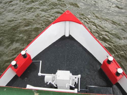 Wir stechen in See - nein, in die Elbe.
