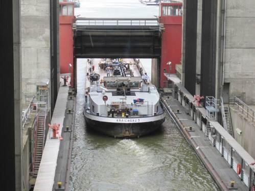 Und weiter geht die Fahrt gen Elbe Richtung Hamburg.
