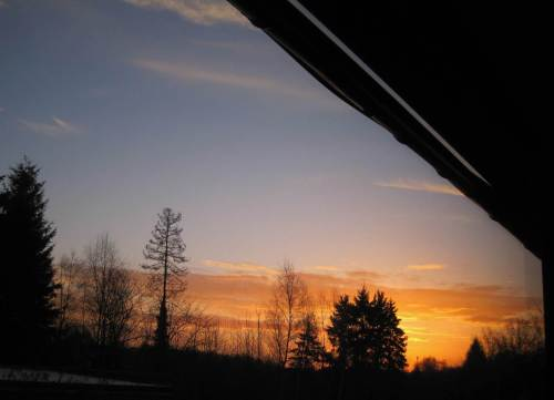 Da ist sie, die Goldene Stunde (na ja, vorm Sonnenaufgang ist das eher eine Minute).