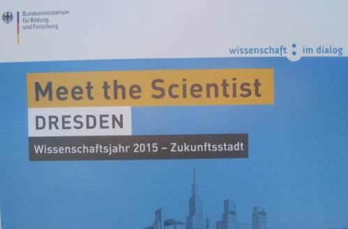 """Ah, ja! Wir begehen das Wissenschaftsjahr 2015 - den """"scientist"""" stellen wir selbst."""