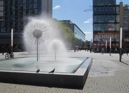 Tschüß, ihr Dresdner Wasser-Igel und Tauben, es geht nordwärts.