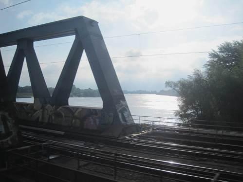 Keine frühmorgendliche Bahnfahrt über die Süderelbe (und die Norderelbe) mehr.