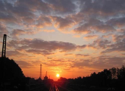 Kein frühmorgendlicher Start mehr auf glühenden Schienen gen Hamburg.
