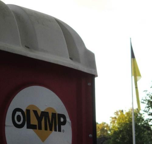 Es dunkelt schon, als Zeus vom Olymp herabsteigt.