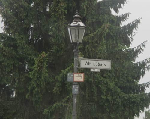 Alt-Lübars, wir haben unseren Wanderstart erreicht.