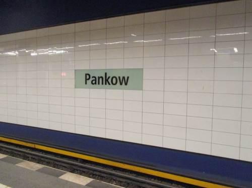 Huuups, das ging jetzt aber schnell - zurück im Bahnhof Pankow, auf zu neuen Taten.