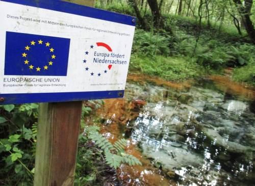 EU-geförderte Landschaftsinformation.