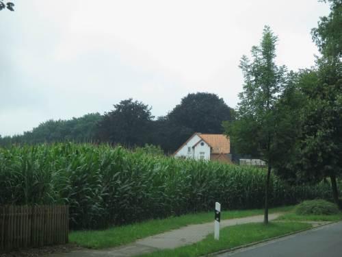 Kaum ein Blick auf ein durch Fernsehserien beliebtes Bauernhaus.