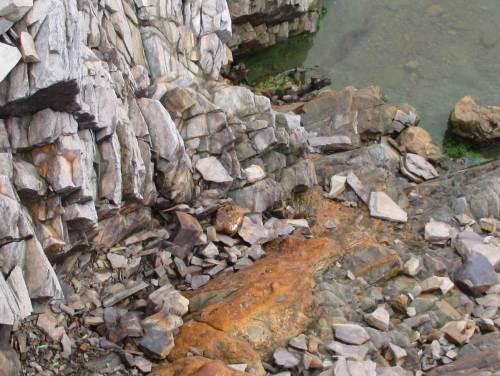Noch so ein Beispiel einer geochemischen Umsetz- und Fliessbahn.