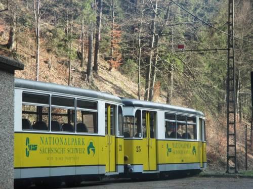 Das Kirnitzschtal als Pendant zum Tal des Lachsbach haben wir auch bereist.