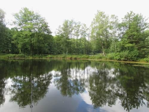 Unsere beiden Gewässer in Schwindebeck, zwei ehemalige Kieselgurgruben, werden gleich hinsichtlich ihrer Tiefenstruktur untersucht.
