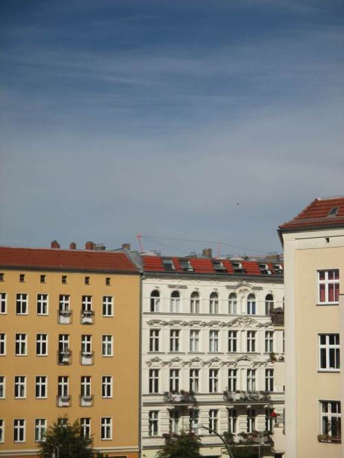 Danziger / Lychener Straße - wir haben uns aber auch wieder ein Wetterchen ausgesucht!
