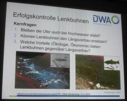Ein anderer Umgang mit unseren Gewässern macht gut Sinn.