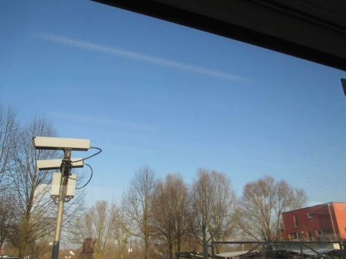 Morgens geht`s sonnig in Wedel, Schleswig-Holstein, los.