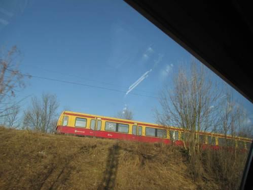 Bunt - die Berliner S-Bahn fährt.