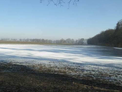 Brandenburg, sonnig-winterlich.